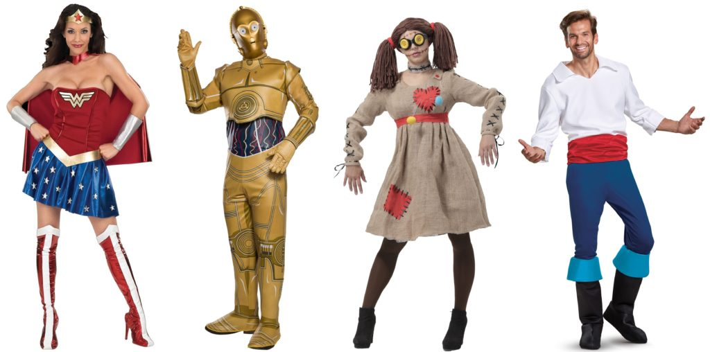 2017 Halloween Costumes for Adults