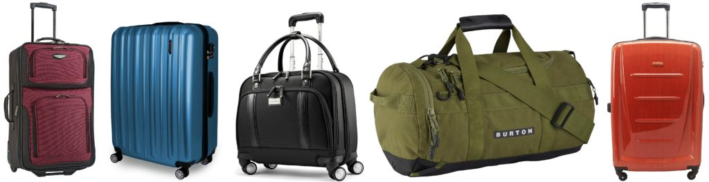 Top 10 luggage deals 2018
