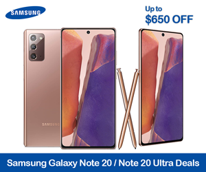 Samsung Galaxy Note 20 Coupon Code