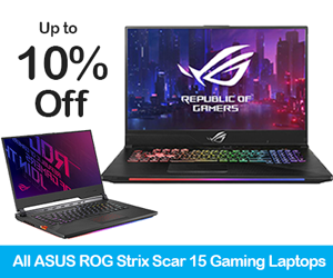 Asus ROG Strix SCAR 15 Gaming Laptop Black Friday Deals