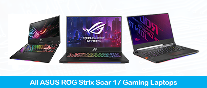 Asus ROG Strix SCAR 17 Gaming Laptop Black Friday Deals