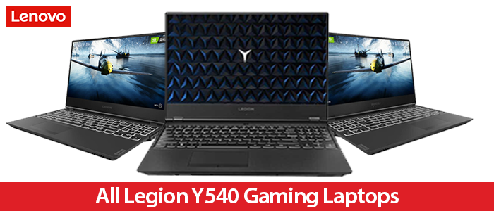 Lenovo Legion Y540 Coupon Code and Gaming Laptops Deals