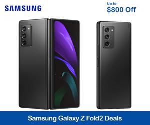 Samsung Galaxy Galaxy Z Fold2 Promo Code