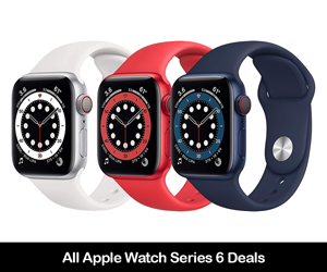 Apple Watch Series 6 Deals & Coupons 2020