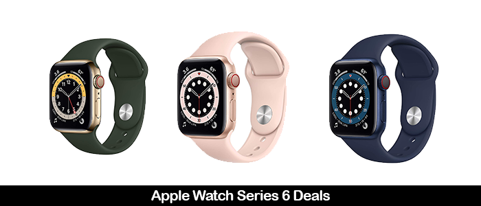 Apple Watch Series 6 Black Friday Deals 2020