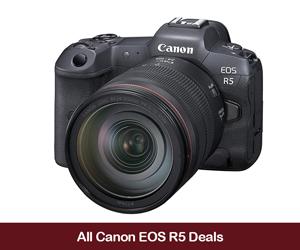 Canon EOS R5 Deals 2020