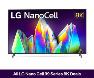 LG NanoCell 99 Series 8K TV Deals & Coupons