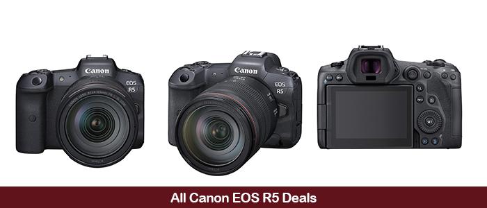 Canon EOS R5 Black Friday Deals 2020