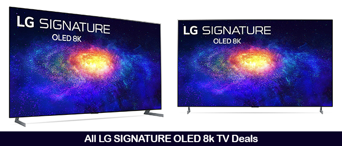 LG Signature OLED 8K Black Friday Deals 2020