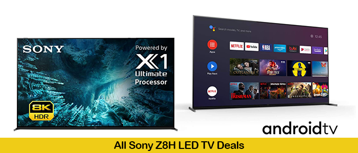 Sony Z8H Black Friday Deals 2020