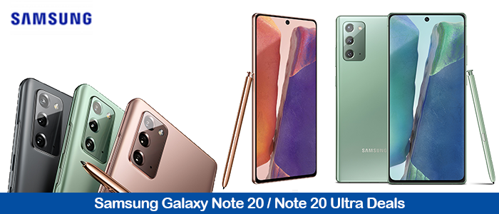 Samsung Galaxy Note20 Ultra Promo Codes & Deals Black Friday and Holiday 2020