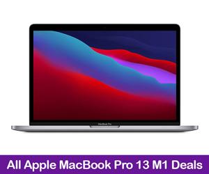 Apple MacBook Pro 13 M1 Deals Valentine's Day 2021