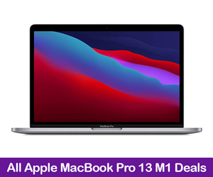 Apple MacBook Pro 13 M1 Deals Black Friday 2021
