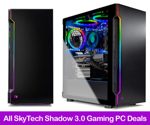 SkyTech Shadow 3.0 Gaming PC Deals & Coupons 2021