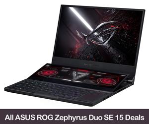 ASUS ROG Zephyrus Duo SE 15 Deals & Coupons 2021