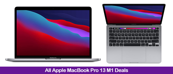 Apple MacBook Pro 13 M1 Coupons, Promo Codes, & Deals Black Friday 2021