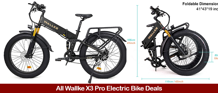 W Wallke X3 Pro Sale, Promo Codes, and Deals Black Friday 2021