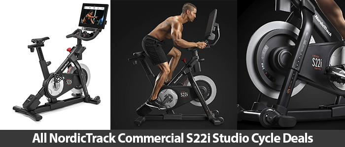 Nordictrack Commercial S22i Studio Cycle promo code, coupons, and discount deals 2021