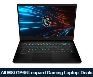MSI GP66 Leopard Deals, Sales, and Coupons Black Friday 2021