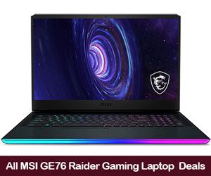 MSI GE76 Raider Coupons, Promo Codes, and Deals Black Friday 2021