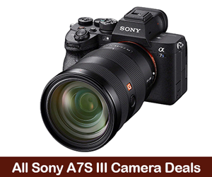 Sony Alpha a7S III Deals, Sales, and Coupons 2021