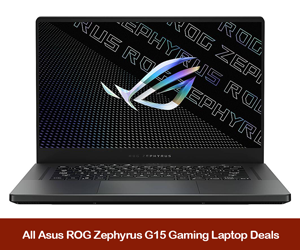 ASUS ROG Zephyrus G15 Deals, Promo Codes, Coupons, and Sales Black Friday 2021