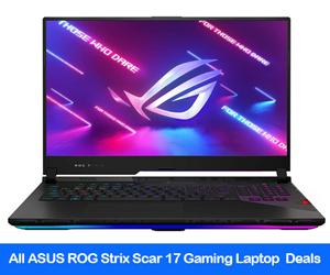 Asus ROG Strix SCAR 17 2021 Gaming Laptop Black Friday Deals
