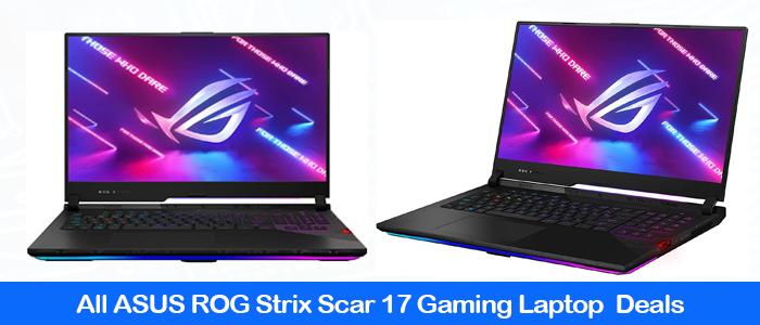 Asus ROG Strix SCAR 17 2021 Gaming Laptop Black Friday Deals & Coupons