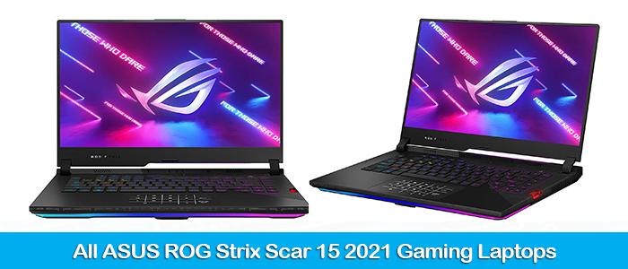 ASUS ROG Strix Scar 15 G533 2021 Gaming Laptops Deals & Coupons