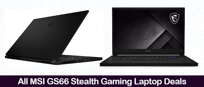 MSI GS66 2021 Deals, Coupons, Sales, and Promo Codes