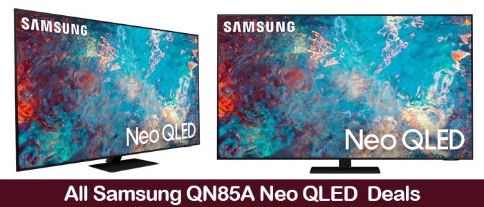 Samsung QNA85A Coupons, Promo Codes, and Black Friday Deals 2021