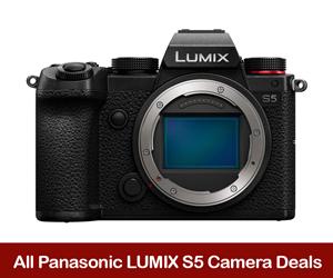 Panasonic LUMIX S5 Coupons, Sales, & Black Friday Deals 2021