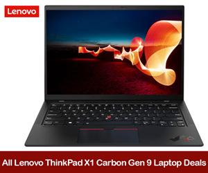 Lenovo ThinkPad X1 Carbon Gen 9 eCoupons, Promo Codes, and Deals 2021