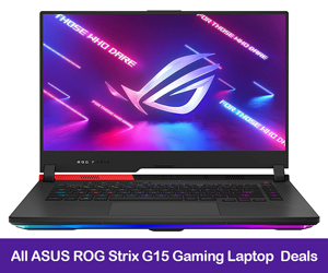 ASUS ROG Strix G15 Coupons, Promo Codes, and Deals Black Friday 2021