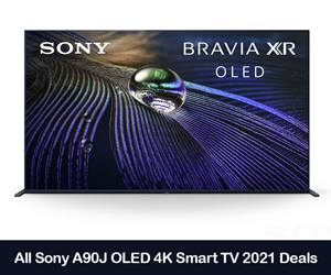 Sony A90J BRAVIA XR 2021 Deals, Coupons, Promo Codes, and Sales