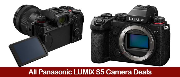 Panasonic LUMIX S5 Deals, Coupons, Sales, & Promo Codes Black Friday 2021