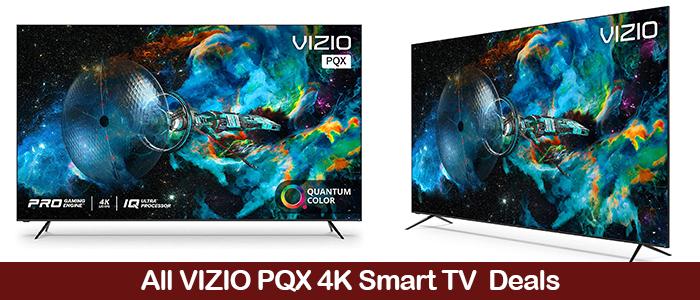 Vizio PQX 4K TV 2021 Deals, Coupons, Promo Codes, & Sales Black Friday