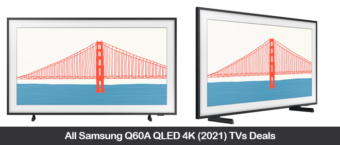 Samsung LS03A The Frame 4K TV Coupons, Sales, Promo Codes, and Deals Black Friday 2021