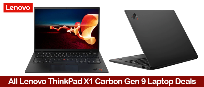 Lenovo ThinkPad X1 Carbon Gen 9 eCoupons, Promo Codes, Discount Sales, and Deals Black Friday 2021