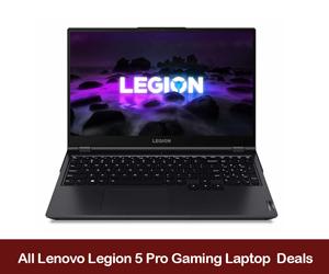 Lenovo Legion 5 Pro eCoupon Codes & Black Friday Deals 2021