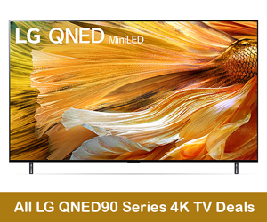 LG QNED90 MiniLED 4K Coupons, Promo Codes, and Black Friday Deals 2021