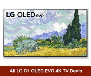LG G1 OLED evo 4K TV Coupons, Sales, & Deals Black Friday 2021