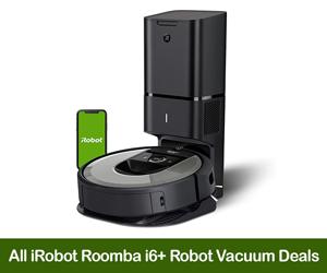 iRobot Roomba i6+ Coupons, Sales, Promo Codes, & Black Friday Deals 2021