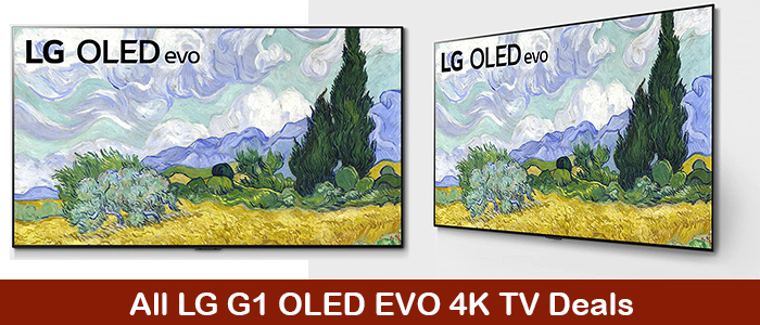 LG G1 OLED evo Deals, Coupons, Promo Codes, and Sales Black Friday 2021