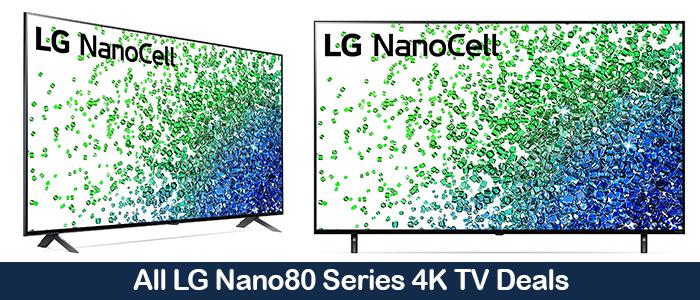 LG Nano80 Deals, Promo Codes, Coupons, and Black Friday Sales 2021