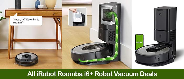 iRobot Roomba i6+ 6550 Deals, Coupons, Discounts, & Black Friday Sale 2021