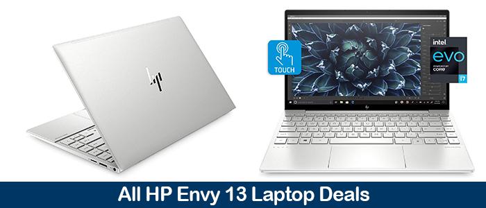 HP Envy 13 Laptop Coupons, Sales, Promo Codes, Black Friday Deals 2021