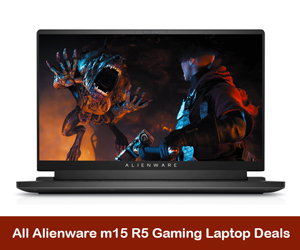 Alienware m15 R5 Coupons, Promo Codes, and Deals Black Friday 2021