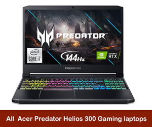 Acer Predator Helios 300 Coupon Code & Deals 2021