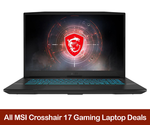 MSI Crosshair 17 Coupons, Sales, Promo Codes, and Deals Black Friday 2021